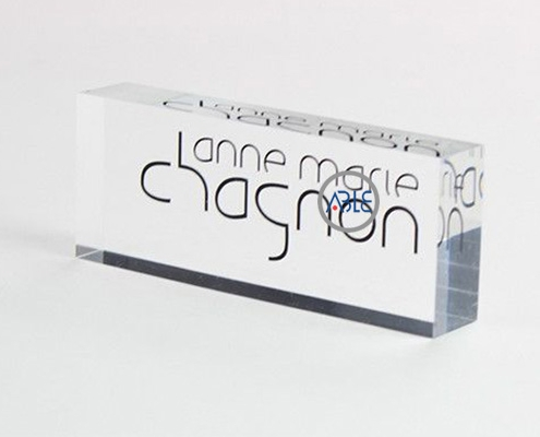 acrylic brand display